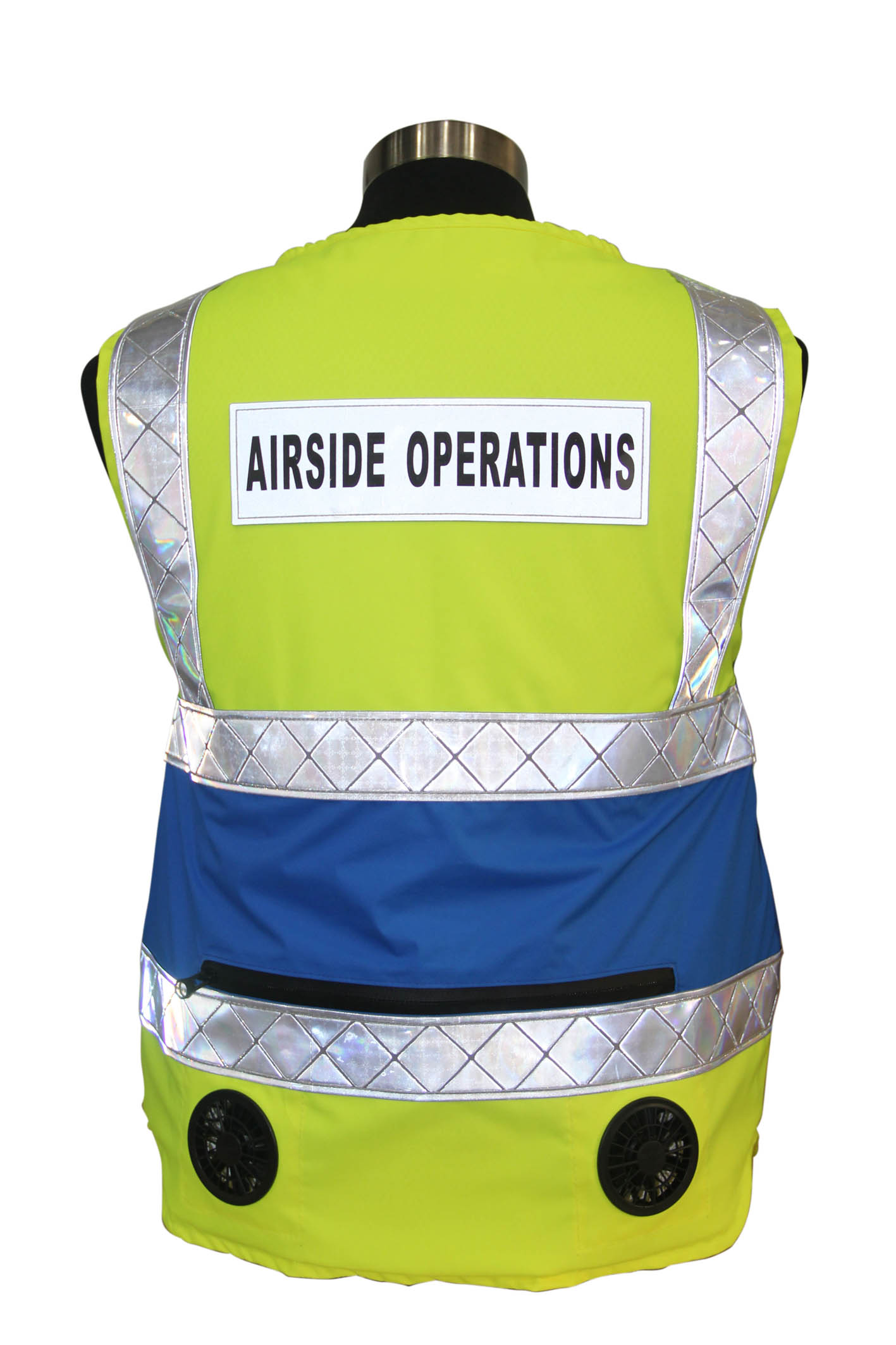 Fluorescent Air Cooling Vest COMP-PACV03